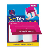 Avery NoteTabs Round Edge File Tab, AVE16387