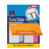Avery NoteTabs Round Edge File Tab, AVE16389