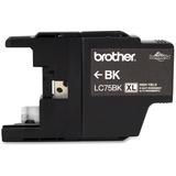 Brother LC75BKS Ink Cartridge - Black   SDC-Photo