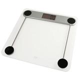 AWS AMW-330LPG Low Profile Bathroom Scale 330x0.2lb - 330 lb / 150 kg Maximum Weight Capacity - Glass - Clear
