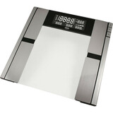 AWS Quantum Body Fat and Water Scale - 396 lb / 180 kg Maximum Weight Capacity - Glass, Metal
