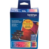 Brother LC79 3PK XXL Color Ink Cartridges