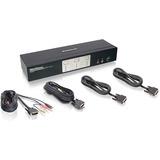 IOGEAR GCS1642 KVM Switch - 2 Computer(s) - 2560 x 1600 - 4 x USB - 4 x DVI (GCS1642)