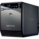 Mediasonic Pro Box HF2-SU3S2 Drive Enclosure External - Black - Serial ATA Controller - 4 x Total Bay - 4 x 3.5IN Bay (HF2-SU3S2)