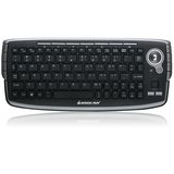 IOGEAR GKM681R Keyboard - Wireless Connectivity - RF - USB Interface - English, French - Scroll Wheel - Compatible wi (GKM681R)