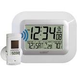 La Crosse Technology WS-811561 Wall Clock - Digital - Solar - Atomic