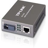 TP-LINK MC112CS WDM Media Converter 10/100Mbps RJ45 to 100M single-mode SC fiber, Tx:1310nm, Rx:1550nm, up to 12miles (MC112CS)