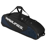 Rawlings Player Preferred PPWB Travel/Luggage Case for Baseball, Softball - Navy - Polyester - Shoulder Strap