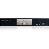 IOGEAR KVM Switch - 4 Computer(s) - 2560 x 1600 - 8 x USB - 5 x DVI (GCS1204G)