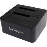 StarTech.com USB 3.0 to SATA IDE HDD Docking Station for 2.5in or 3.5in Hard Drive | SDC-Photo