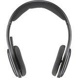 Logitech H800 Wireless Headset - Stereo - Black - Wireless - Bluetooth - 39.4 ft - Over-the-head - Binaural - Ear-cup (981-000337)