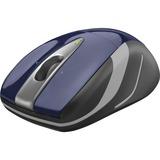 Logitech Wireless Laser Mouse - Optical - Wireless - Radio Frequency - Blue, Black - USB - 1000 dpi - Computer - Scro (910-002698)