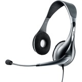 Jabra UC Voice 150 duo Headset - Stereo - Gray - USB - Wired - Over-the-head - Binaural - Semi-open - Noise Reduction (1599-829-209)