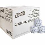 Genuine Joe Embossed Roll Bath Tissue