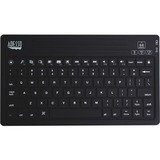 Adesso WKB-2000BA Keyboard - Wireless Connectivity - Bluetooth - 80 Key - English (US) - Compatible with Tablet - Hom (WKB-2000BA)