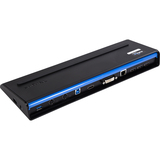Targus USB 3.0 SuperSpeed Dual Video Docking Station With Power - 6 x USB Ports - Network (RJ-45) - Audio Line Out - (ACP71USZ)