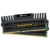 Corsair Vengeance 16GB DDR3 SDRAM Memory Module - 16 GB (2 x 8 GB) - DDR3 SDRAM - 1600 MHz DDR3-1600/PC3-12800 - Non- (CMZ16GX3M2A1600C10)