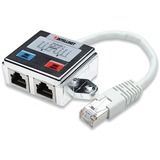 Intellinet 2-Port FTP Modular Distributor - Allows two RJ45 ports to share one Cat5 shielded network cable