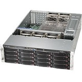 Supermicro SuperChassis 836BE16-R920B - Rack-mountable - Black - 3U - 20 x Bay - 5 x 3.15IN x Fan(s) Installed - 2 x (CSE-836BE16-R920B)