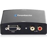 Comprehensive  CCN-VH101 VGA to HDMI Converter with Audio