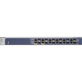 Netgear ProSafe GSM7212F Ethernet Switch - 12 x Gigabit Ethernet Network, 12 Expansion Slot - Manageable - Twisted Pa (GSM7212F-100NES)