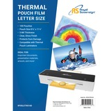 """Royal Sovereign Letter Size - 8 3/4"""" x 11 1/4"""" - 5mil - 100 Pack - Thermal Laminating Pouches"""