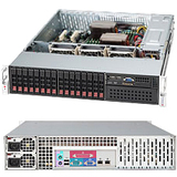 Supermicro Chassis 213A-R740LPB 2U 16SAS/SATA 2.5IN 7LP EATX 740W Redundant