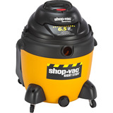 Shop-Vac The Right Stuff Canister Vacuum Cleaner - 4.85 kW Motor - 390 W Air Watts - 18 gal - Bagged - 18 ft Cable Length - 12 ft Hose Length - 1458.7 gal/min - 12 A - Yellow, Black