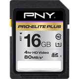 PNY Pro-Elite Plus 16 GB Secure Digital High Capacity (SDHC) - 1 Card | SDC-Photo