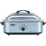 Nesco Electric Oven - Single - 0.60 ft?? Main Oven - 1425 W - Stainless Steel