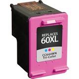 V7 Tri-Color High Yield Inkjet Cartridge for HP DeskJet D1660, D2530, D2545, D2560, D2660, D2680, D5560; HP Deskjet F4200, F4435, F4440, F4480, F4580; Photosmart C4635, C4640, C4650, C4680, C4740, C4750,C4780,C4795; K209a (HP 60XL) - CC644WN#140 440P