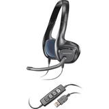 Plantronics .Audio 628 Stereo USB Headset - Stereo - USB - Wired - 20 Hz - 20 kHz - Over-the-head - Binaural - Semi-o (81960-13)