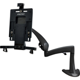 """Ergotron Neo-Flex Mounting Arm for Tablet PC, Flat Panel Display - 10"""" Screen Support - 2.50 lb Load Capacity - Black"""