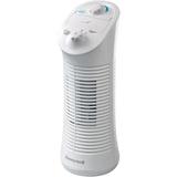"""Honeywell Floor Fan - 2 Speed - Oscillating - 14"""" Height - White"""