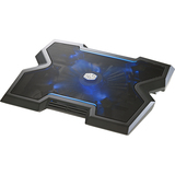 Cooler Master NotePal X3 - Gaming Laptop Cooling Pad with 200mm Blue LED Fan - 1 Fan(s) - 850 rpm rpm - 572.3 gal/min (R9-NBC-NPX3-GP)