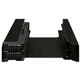 Icy Dock EZ-FIT PRO MB082SP Drive Bay Adapter Internal - Matte Black - 2 x Total Bay - 2 x 2.5IN Bay (MB082SP)
