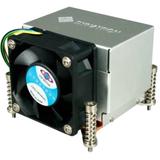 Dynatron K666 Cooling Fan/Heatsink - 1 x 60 mm - Dual Ball Bearing - Socket H2 LGA-1155, Socket H LGA-1156 Compatible Processor Socket - Aluminum/Copper - Retail