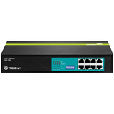 TRENDnet TPE-T80 Ethernet Switch - 8 x Fast Ethernet Network - Twisted Pair - 2 Layer Supported - Rack-mountable - Li (TPE-T80)