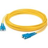 AddOn 10m Single-Mode fiber (SMF) Duplex SC/SC OS1 Yellow Patch Cable