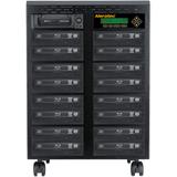 Aleratec 1:15 Standalone Blu-ray/DVD/CD Duplicator - StandaloneBD-ROM, Blu-ray Writer - 12x BD-R, 8x BD-R, 16x DVD+R, (260206)