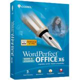 Corel WordPerfect Office v.X6 Home & Student Edition - Complete Product - 1 User - Office Suite - Standard Mini Box Retail - PC - English