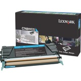 Lexmark Toner Cartridge - Laser - High Yield - 10000 Pages - Cyan - 1 Each (C748H1CG)
