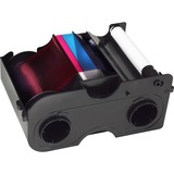 Fargo Ribbon Cartridge with Cleaning Roller