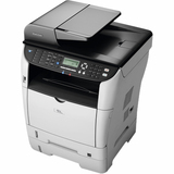 Ricoh Aficio SP 3500SF Laser Multifunction Printer - Monochrome - Plain Paper Print - Desktop | SDC-Photo