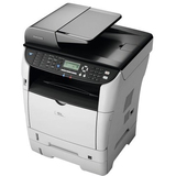 Ricoh Aficio SP 3510SF Laser Multifunction Printer - Monochrome - Plain Paper Print - Desktop | SDC-Photo