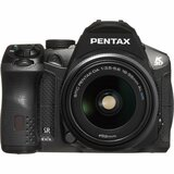 Pentax K-30 16.3 Megapixel Digital SLR Camera (Body with Lens Kit) - 18 mm - 55 mm - Black | SDC-Photo