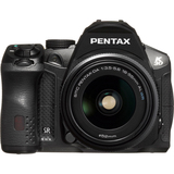 Pentax K-30 16.3 Megapixel Digital SLR Camera (Body with Lens Kit) - 18 mm - 55 mm (Lens 1), 55 mm - 300 mm (Lens 2) | SDC-Photo