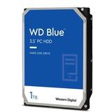 WD Blue 1 TB 3.5-inch SATA 6 Gb/s 7200 RPM PC Hard Drive - 7200rpm - 64 MB Buffer (WD10EZEX)