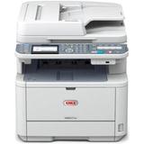 Oki MB491 LED Multifunction Printer - Monochrome - Plain Paper Print - Desktop | SDC-Photo