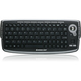 IOGEAR 2.4GHz Wireless Keyboard - Wireless Connectivity - RF - USB Interface - French - Trackball, Scroll Wheel - Com (GKM681RW4)